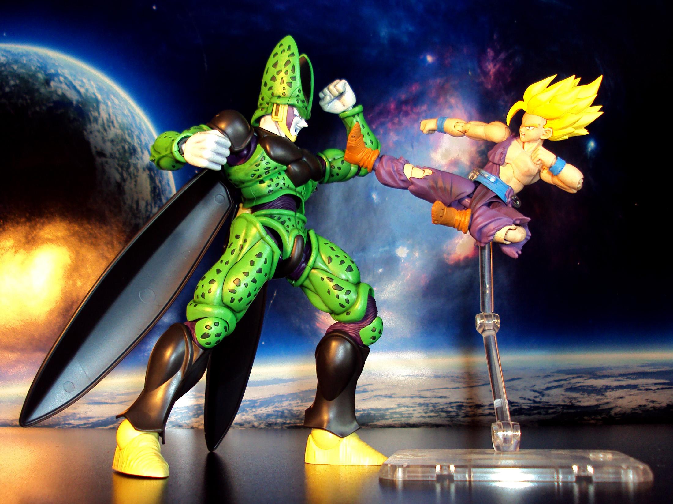 Goku Ssj Wallpaper Hd Bandai S H Figuarts Dragonball Z Teen Super Saiyan Son