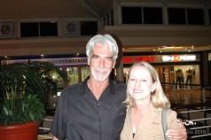 Robin meets Sam Eliott in Cape Town