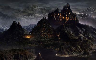Fantasy Palace Background 1