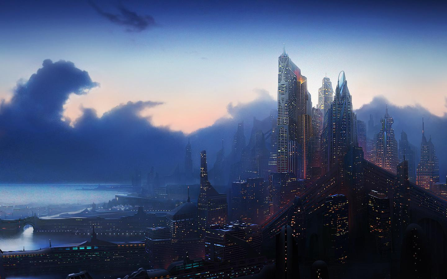 Fantasy City Wallpapers, Pictures, Images