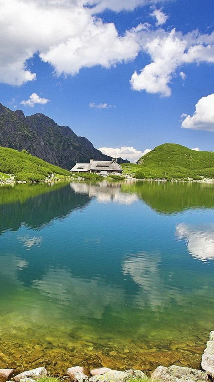 S8 Wallpaper Hd Sky Nature Lake Clear خلفيات ايفون Iphone 6 Iphone 7