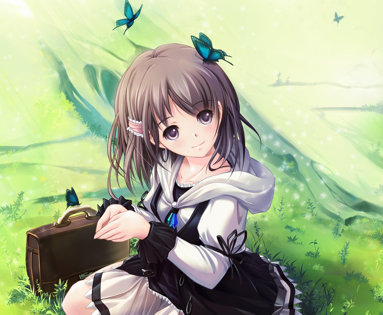 Cute Sad Alone Girl Wallpaper أحلى خلفيات انمي بنات صغار صور خلفيات عالية الدقة Hd