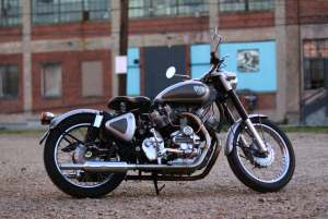 Musket Royal Enfield V Twin Wallpaper