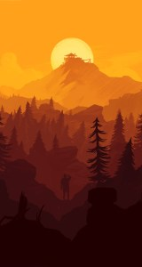 Firewatch-iPhone-Wallpaper-orange