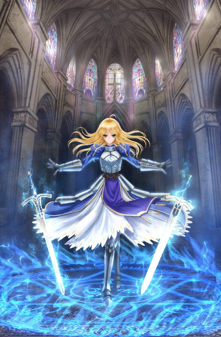 Arrow Girl Anime Wallpaper Fate Series Saber Sword Hd Wallpapers Desktop And