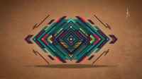 abstract, Digital art, Vector, Triangle, Colorful, Graphic ...