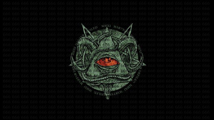Gravity Falls Wallpaper 1366x768 Red Eyes Illuminati The All Seeing Eye Black Background