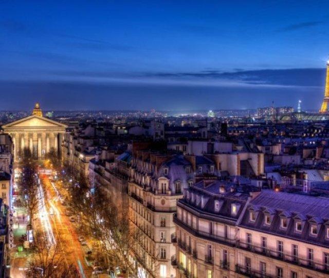 Cityscape Paris France Eiffel Tower Hd Wallpaper Desktop Background
