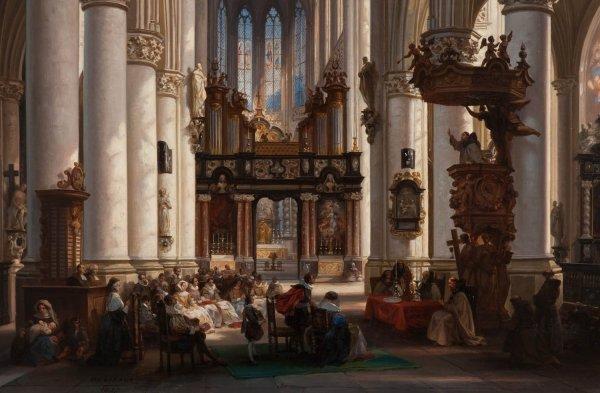 Church Interior Painting