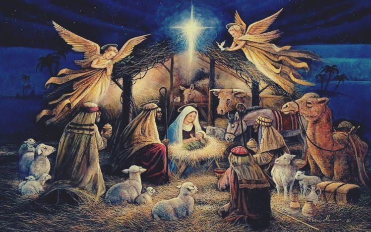 virgin mary jesus christ
