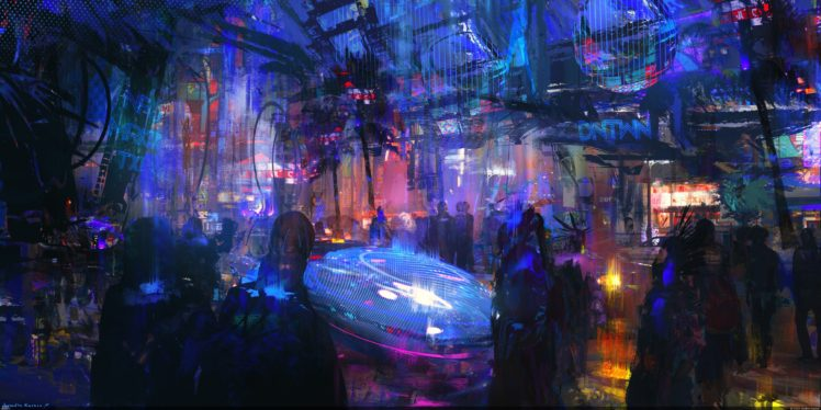 Artwork Cyberpunk City Futuristic City Hd Wallpapers