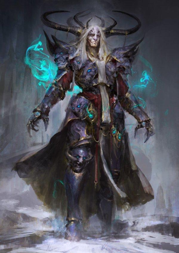 Fantasy Art Magic Demon Hd Wallpapers Desktop And
