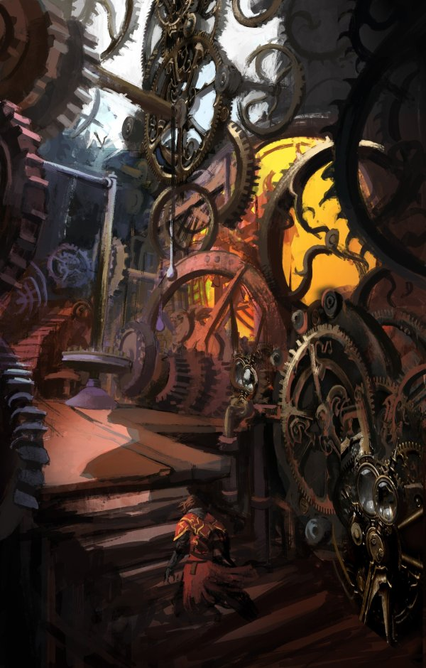 Castlevania Lords Of Shadow Concept Art Gears Clocktowers Hd Wallpapers Desktop And Mobile