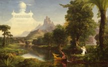 Thomas Cole Voyage Of Life Youth Painting Classic