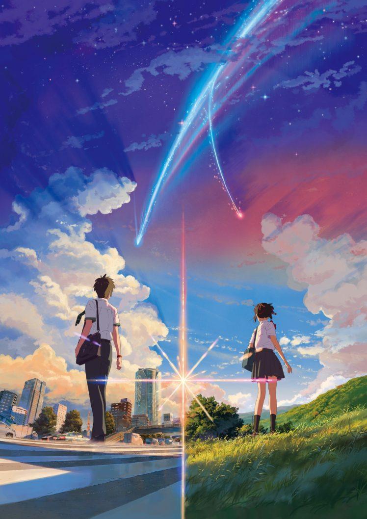 anime anime girls landscape