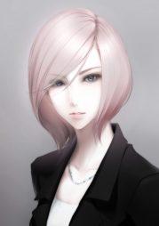 original characters short hair