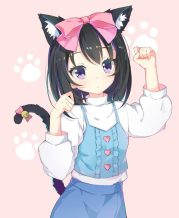 purple eyes anime girls