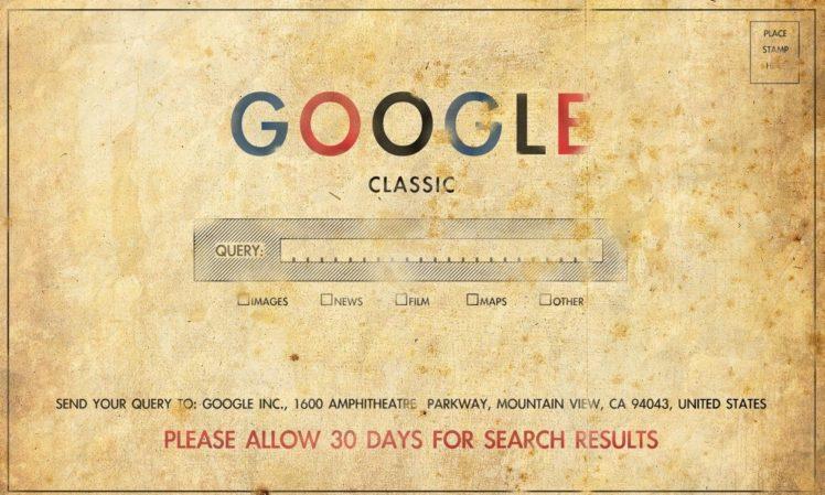google old old paper