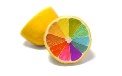 colorful Food Simple background Minimalism Lemons HD Wallpapers / Desktop and Mobile Images & Photos