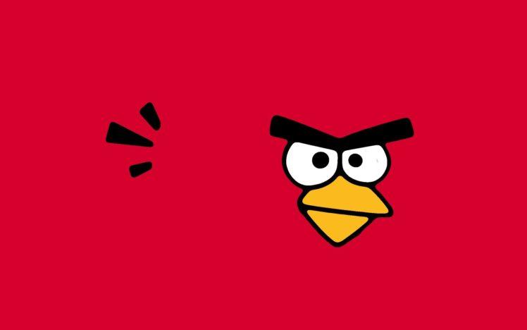 angry birds minimalism hd