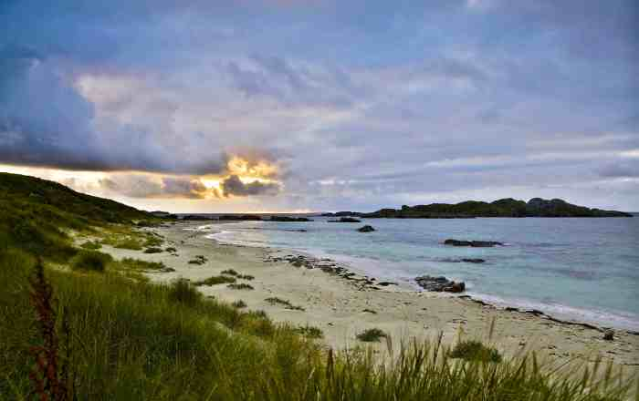 Sunset on Iona