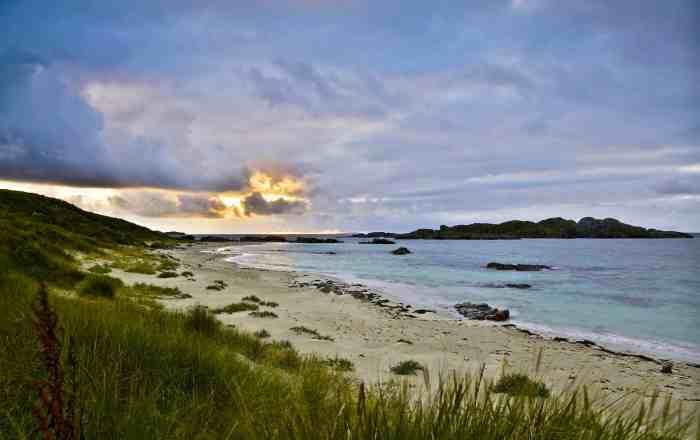 Sunset on Iona