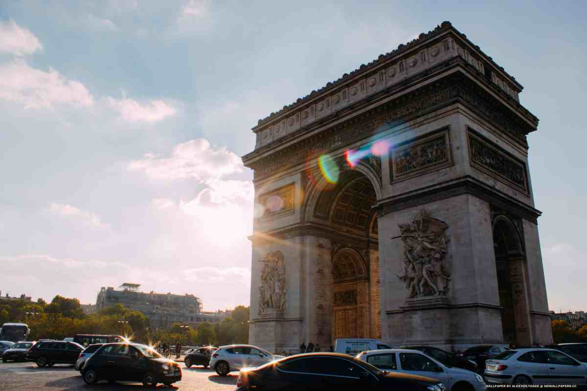 Arc De Triomphe (Day)