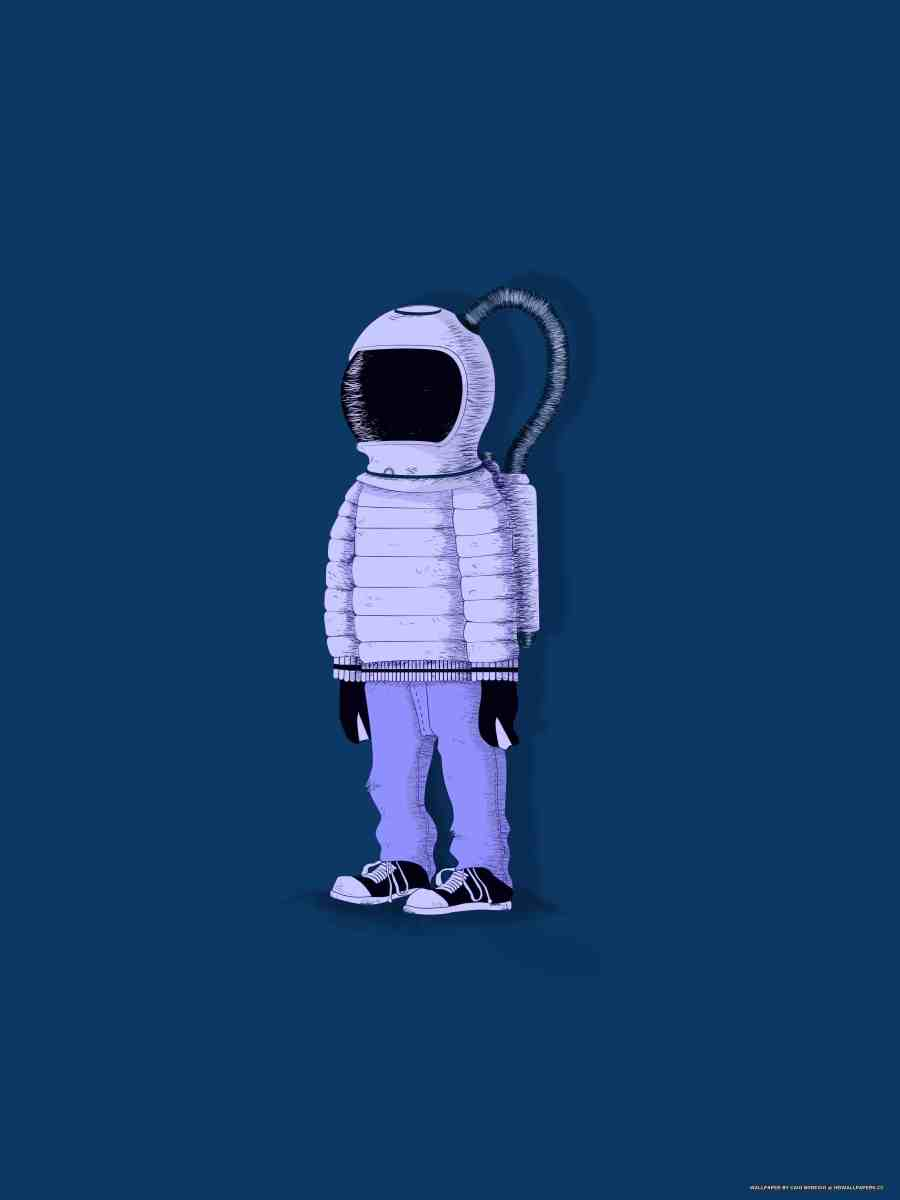 Astronaut in jeans