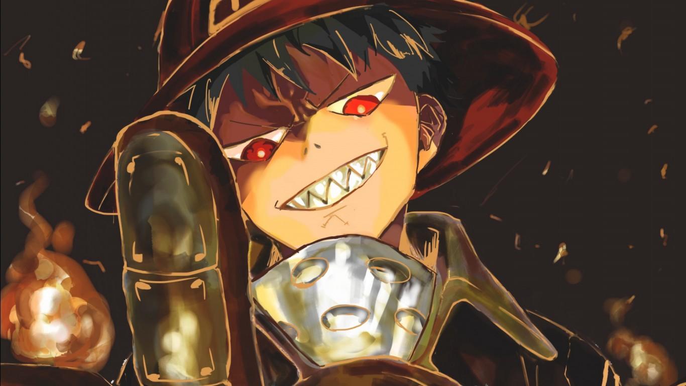 Anime Wallpaper 4k Fire Force - Novocom.top