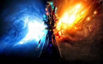 fantasy wallpapers hd desktop background landscape backgrounds cool mythical fire