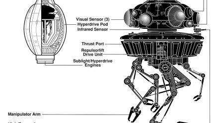 Movies futuristic droid schematic science fiction artwork