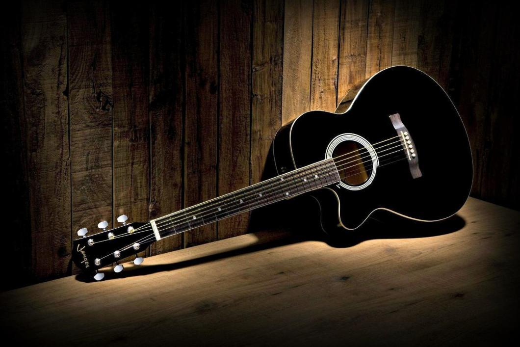 Black Guitar Wallpaper Photos 58787 1500x1000 Px Hdwallsource Com