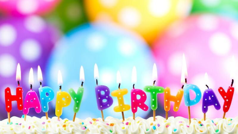 Happy New Year D With Quotes Nice Happy Birthday Background Candles Happy Birthday 669