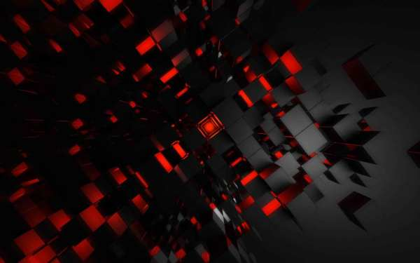Red Wallpapers Fractal Wallpaper #4680