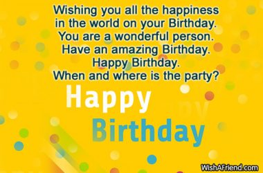 Happy Birthday Sayings Wallpaper 7643 HDWPro