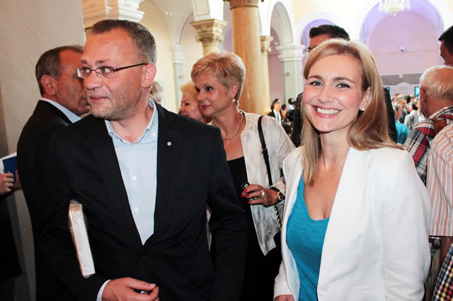 Bruna Esih i Zlatko Hasanbegović