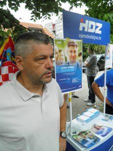 predsjednik Vijeća MO Perjavica-Borčec i predsjednik TO HDZ Perjavica-Borčec, Aljoša Bosnar