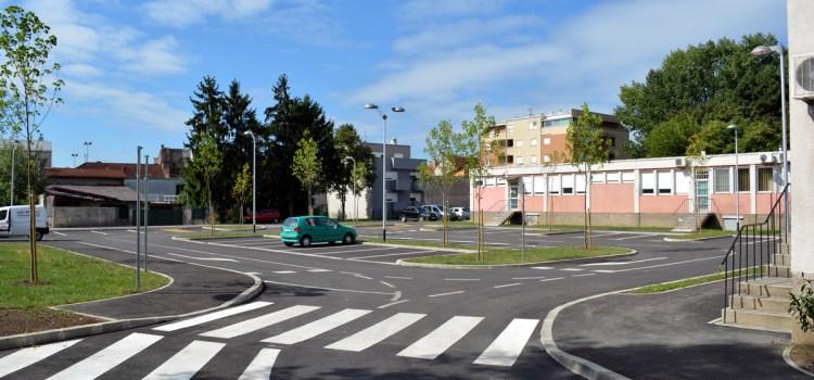Novo parkiralište kod Doma zdravlja Zapad
