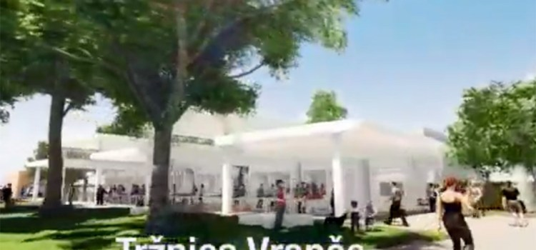Predstavljen animirani prikaz buduće nove tržnice u Vrapču