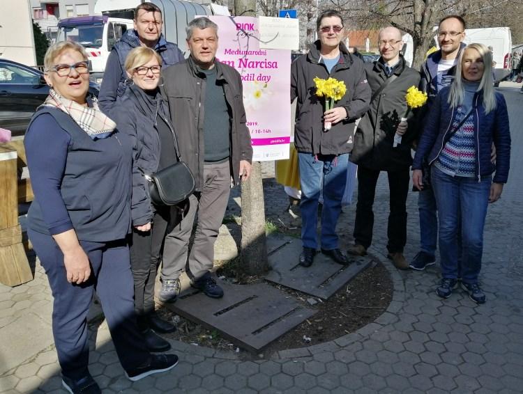 Odbor GČ HDZ Podsued-Vrapče i Međunarodni Dan narcisa