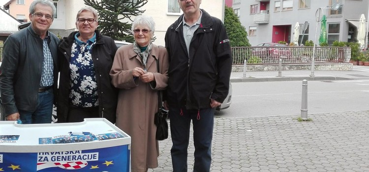 Druženje s građanima Gajnica uoči izbora za EU parlament