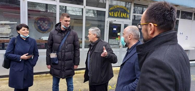 Mislav Herman i Davor Filipović posjetili Podsused-Vrapče