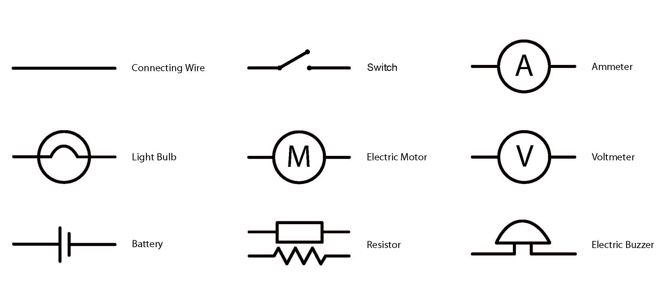 Simple Automotive Push Button Diagram