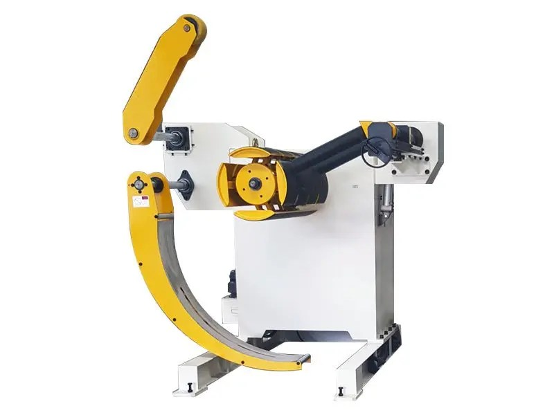 decoiler-part-of-glk3-uncoiler straightener and feeder machine