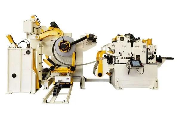 coil handling line glk-h decoiler straightener feeder