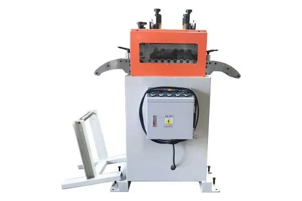 precision metal straightener machine