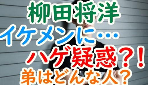 柳田将洋は慶応大学卒のイケメンだがハゲ疑惑が⁉弟・貴洋の画像もチェック!