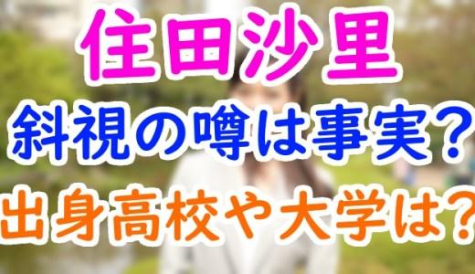 住田沙里アナ(テレビ朝日)の出身高校や大学は?熱闘甲子園の動画が可愛いけど斜視って本当?