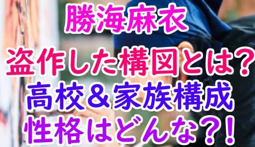 勝海麻衣(銭湯絵師)の高校や家族は?東京藝大モデルが盗作した構図や性格について