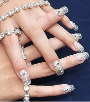 bridal nail art design 006